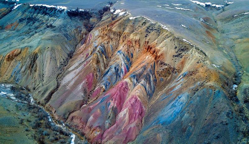 Кызыл-Чин(Марсианские пейзажи)
