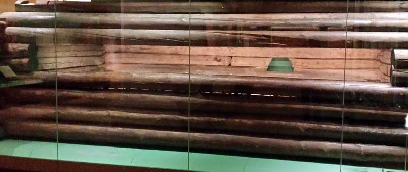 Эрмитаж. Сруб из Пазырыкского кургана