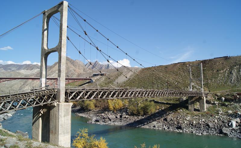 Подвесной мост инженера Цаплина