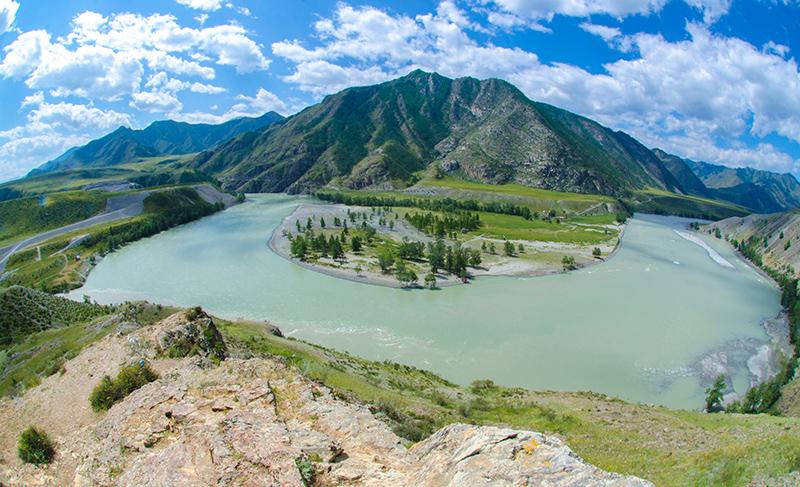 Слияния рек Чуя и Катунь