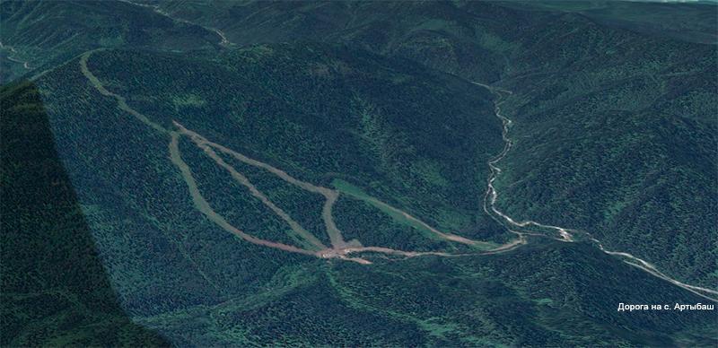 Горнолыжный комплекс на горе Кокуя