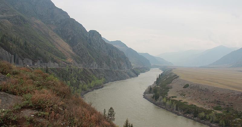 Река Катунь. Район Большой Яломан