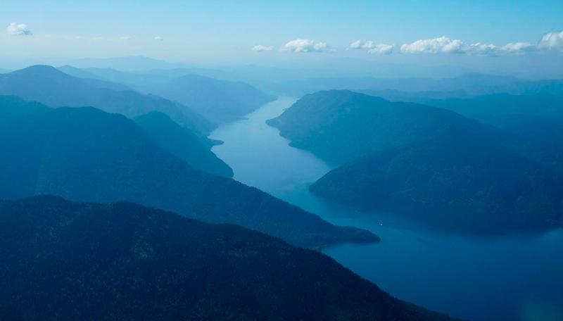 Северная часть Телецкого озера