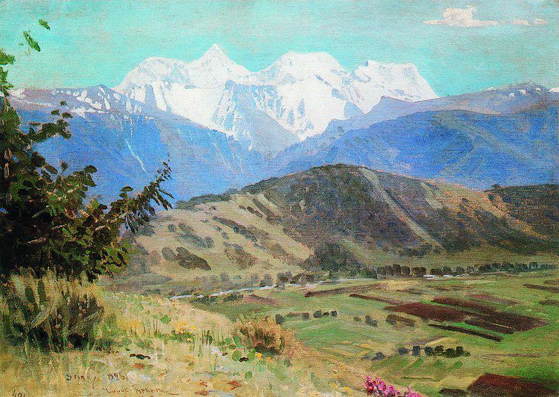 Н.Гуркин. Вид на Белуху