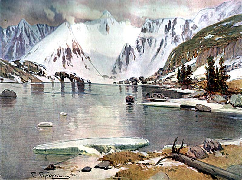 Гуркин. Озеро горных духов
